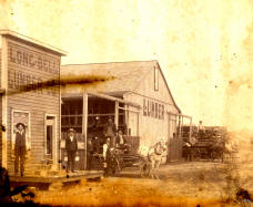 Oldest Picture on this Web Site - circa 1880 - Altus, Oklahoma