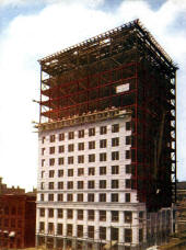 Long Building in Course of Construction