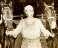 Loula with 2 Hackney Ponies